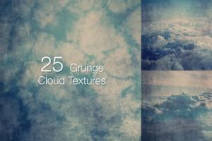 25 Grunge Cloud Textures