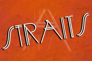 STRAITS light font from Creative Market