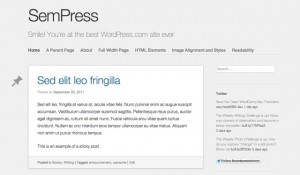 Lightweight, responsive blogging theme. Demo | Homepage