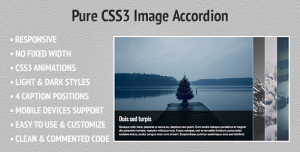 CodeCanyon - Pure CSS3 Image Accordion - View