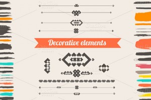 Creative Market - Decorative elements collection - View