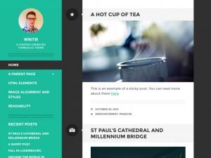 Writr - A minimalist, content-oriented tumblelog theme. Demo | Homepage