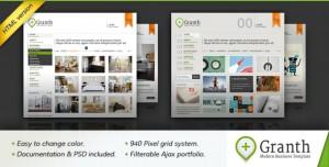Granth - Modern Business HTML Template - Link