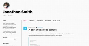 Clean, responsive theme for personal blogs. Homepage | Demo